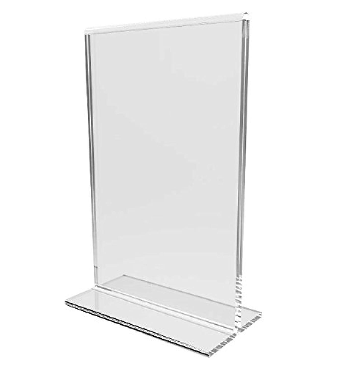 FixtureDisplays 24-Pack Clear Acrylic 4x6