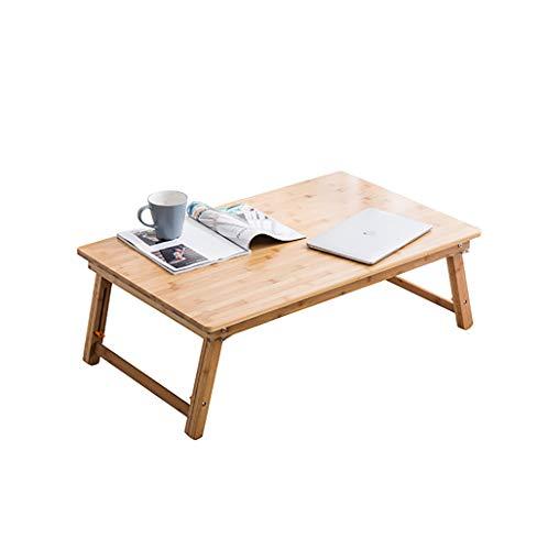 Folding table tu Mesa Plegable Mesita Pequeña Balcón de Madera de Estilo japonés Tatami Mesita pequeña (Tamaño : 85 * 45cm)