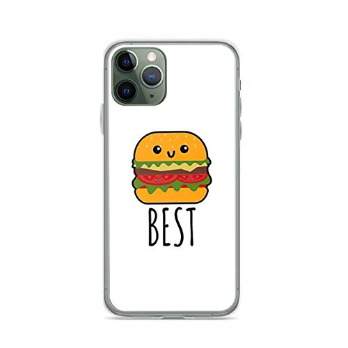 Phone Case Best Friends - Burger and Fries Matching Gift Compatible with iPhone 6 / 6s Accessories Waterproof Drop