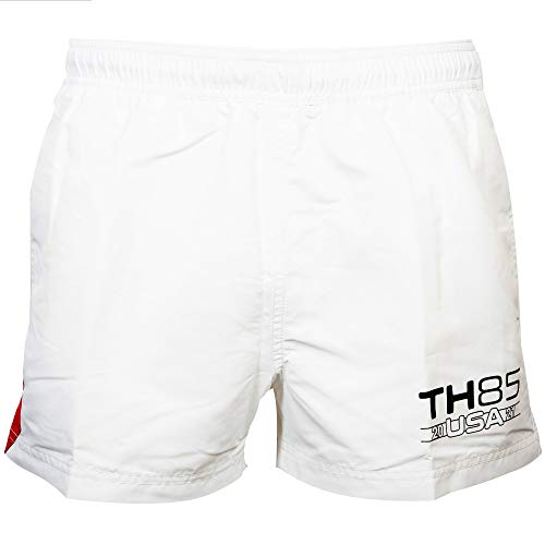 Tommy Hilfiger Short Drawstring Bañador, Blanco, XXL para Hombre