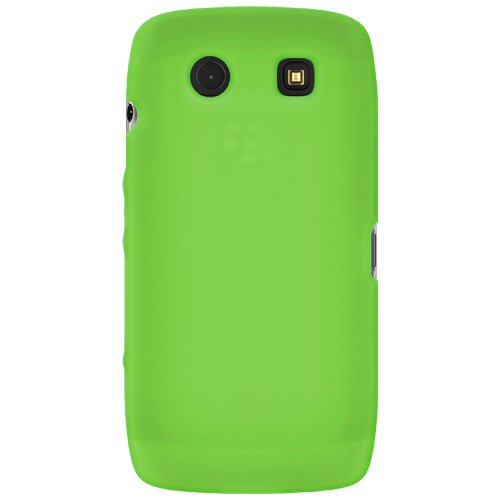 Amzer Silicone Skin Jelly Case for BlackBerry Torch 9850/9860 - Green