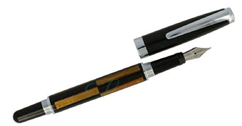 Lindauer Füller Füllfederhalter M in Holz Optik edel
