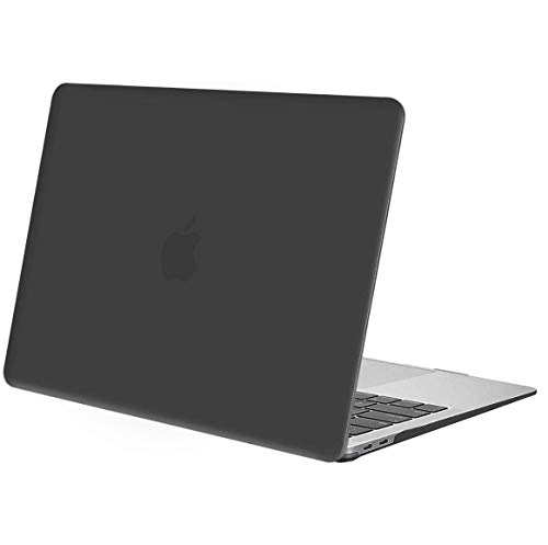 MOSISO MacBook Air 13 inch Case 2020 2019 2018 Release A2337 M1 A1932 A2179 Retina Display, Plastic Hard Case Shell Cover Only Compatible with MacBook Air 13 inch with Touch ID, Space Gray