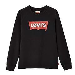 Levi's Crewbat Camiseta de Manga Larga Niños