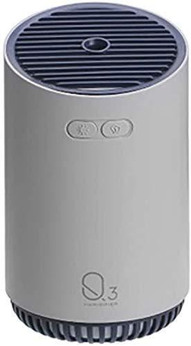 XCY Q3 Humidificador, Humidificador Portátil Mini, una Función de Luz de Colores de Purificación de Aire Humidificador Apto para Coches, Interior, Oficina, Habitación, Bibliotecas Etc,Gris