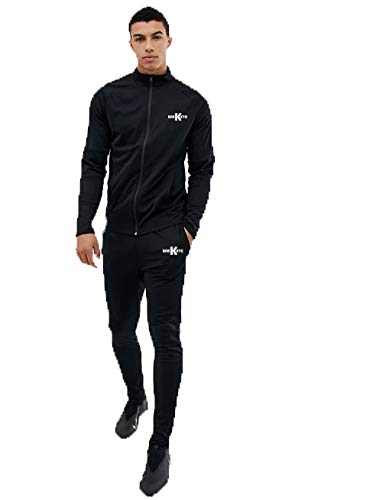 Barkeyo Men's Casual Wear Polyester Lycra Tracksuit Men