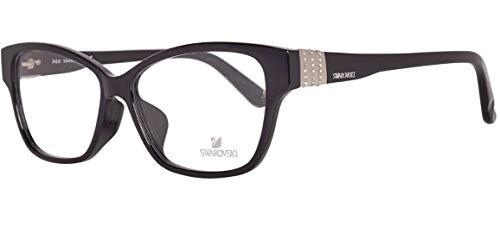 Swarovski SK5130-F 56001 Brille SK5130-F 56001 Wayfarer Brillengestelle 56, Schwarz