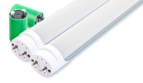 2er Set Showlite LED Röhre 150cm (1500mm Leuchtstoffröhre, T8 G13, 2300 Lumen, 4500 Kelvin, Tageslichtweiß, Leistung: 24W)