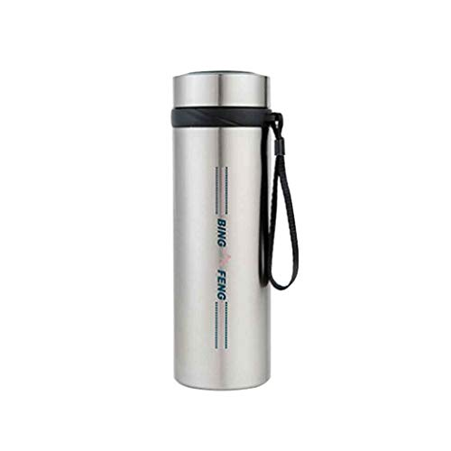 Tragbare Insulin-Kühler-Flaschen-Schalen-sicherer Schutz, Mini-Insulin-Kühlraum-Reise-Fall für gekühlte Medizin- (Silber) (größe : Diameter 8.5cm)