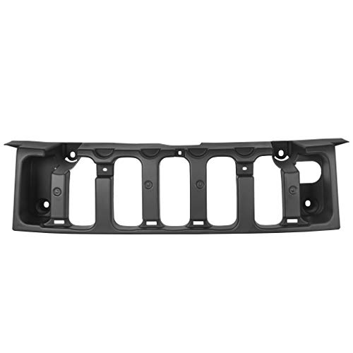 Front Grille Support Bracket Grill Compatible with 2006-2010 Hummer H3 2009 2010 Hummer H3T Replacement for #HU1207100 15834198
