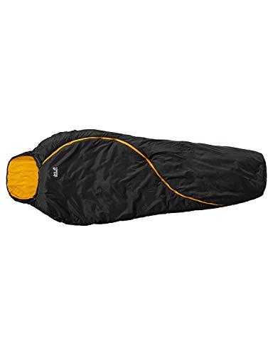 Jack Wolfskin Schlafsack Smoozip -5 Deckenschlafsack, Black, LEFT