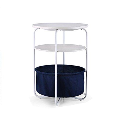 Étagère debout 3 niveaux Table basse Magzine Holder Rack Salon pour la maison Chambre Bureau Cuisine Salle de bains (Taille: 42 * 42 * 53cm) (Couleur : #1)