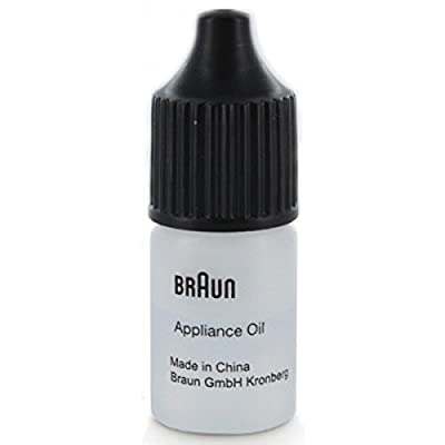 Braun 67002000 Bottle of Shaving (For all Shavers and Trimmers) Lubricating Oil from Braun