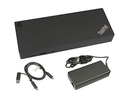 Lenovo USB-C/USB 3.0 replicador de Puertos Incl. 135W Cargador para Compaq Presario C700