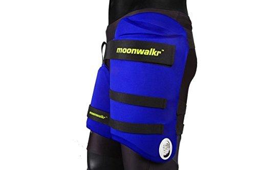 Moonwalkr Cricket Thigh Pads Set & Lower Body Protector RH (Youth) by Yogi Sports