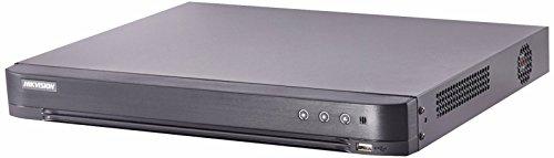 Hikvision DS-7216HQHI-K2 H.265+ 16CH TURBO HD DVR con 2CH IP (fino a 4MP IP CAMERA) supporta fino a 4MP HD-TVI/AHD (3MP SOLO CH1~CH4), 2MP HD-CVI, CVBS, 2 SATA per HDD (HDD non incluso).