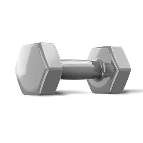 Hanteln, Frauen-Fitness-Start, Kinder Anfänger, Thin Arm Weight Loss Yoga Exercise Equipment,Grau