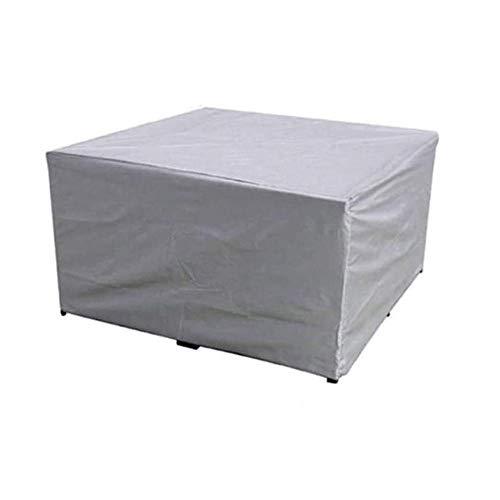 ZHDZ HOME Funda Protectora para Muebles de jardín, Impermeable, Transpirable, Funda Protectora para Mesa de jardín, Muebles y Muebles, Rectangular, Varios tamaños