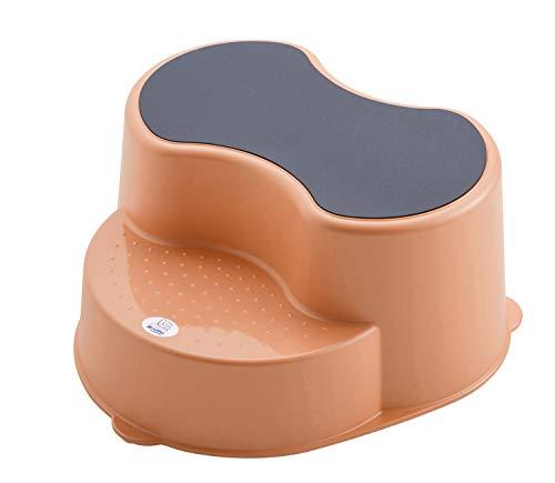 Rotho Babydesign TOP Tabouret Enfant, Surface Antidérapante, TOP, Peach (Orange), 200050254