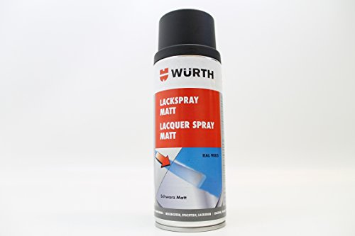 Würth Lackspray schwarz matt 400 ml