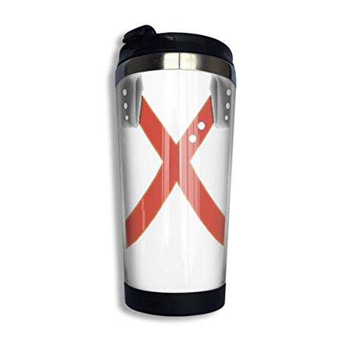 YHKC Taza de té, taza de viaje, taza de café, ventosa Katsuki Bakugo - Boku No Hero Academia - Bakugou Coffee Travel Mug Cup Stainless Steel Vacuum Insulated Tumbler 13.5 Oz