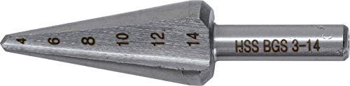 BGS 1620 | Hochleistungs-Schälbohrer | Größe 1 | 3 - 14 mm