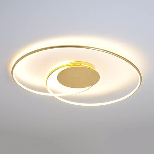 LED Lámpara de techo 'Joline' (Moderno) en Dorado hecho de Metal e.o....