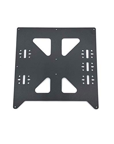 XBaofu 1pc Aluminum Y Carriage Anodized Plate With SC8UU Pgrade For Prusa I3 V2 Hot Bed Support Plate For Prusa I3 RepRap DIY 3D Printer Parts