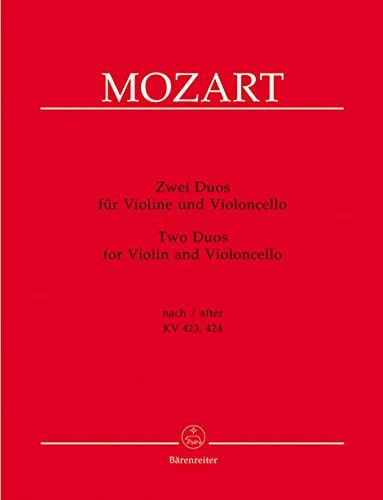 Duos Nach KV 423-424. Violine, Violoncello