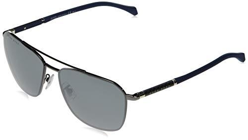 Hugo Boss Boss 1103/F/S, Gafas de sol Hombre, rutenio scuro, 62