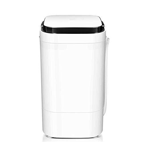 XHCP Waschen und Dehydrieren Integrierte Waschmaschine Tragbarer Mini mit abnehmbarem Filter Halbautomatische Imitation Handwäsche Blaulicht-Bakteriostase Sparen Sie Wasser und Strom Mute4.5Kg, S