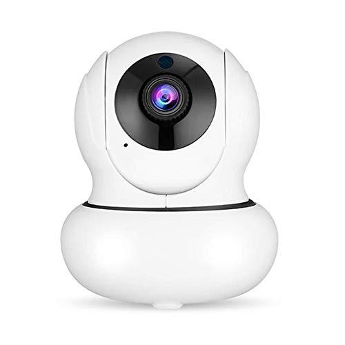 Funnyfeng bewakingscamera, WLAN-camera, draadloos, zoom, 4 x 360°-rotatie, automatische tracking, 1080p, HD veiligheid, oud, heren, antwoordapparaat