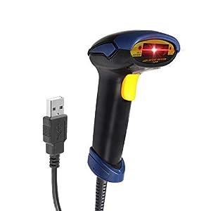 Redlemon-Lector-de-Cdigo-de-Barras-Escner-Lser-de-EAN-UPC-ISBN-y-ms-Almbrico-con-Conexin-USB-Compatible-con-PC-y-Laptop-Ideal-para-Puntos-de-Venta-POS