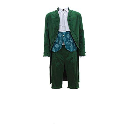 Cosplayitem Costume Medievale Uomo Costume Rinascimentale Giacca Pantaloni Gilet Camicia
