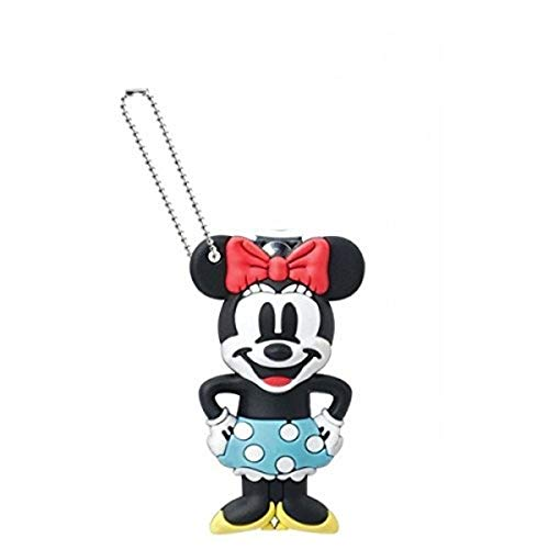 Disney Soft Touch Minnie Mouse Nail Clipper Key Ring, One Size, Multi-Colored