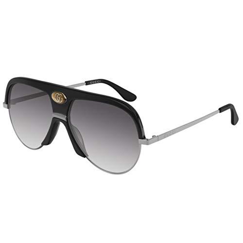 Gucci GG0477S-002 gafas de sol, NEGRO, 59.0 Unisex Adulto