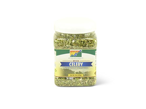Mother Earth Products Dried Celery, Crosscut, 9 Ounce