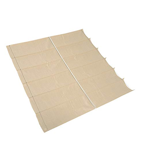 nesling Coolfit Faltsonnensegel (B 2,9m x L 4,0m, Off White) Sonnenschutz, Wasser und Wind durchlässig, UV-beständig
