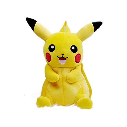 Tutui Pokemon Pikachu Doppel-Schulter-Rucksack Pokemon Pokémon Pokemon Pikachu Picchu Plüsch Puppe Rucksack Schultasche