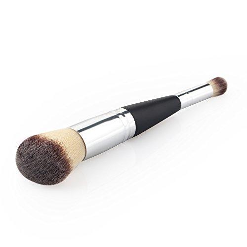 T TOOYFUL Pinceau de Maquillage Brosse De Poudre En Bois Foundation Brush