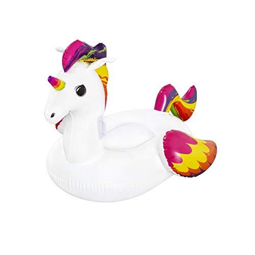 Bestway 41114 | Float'nFashion - Unicorno Gonfiabile con Maniglie, 150x117 cm