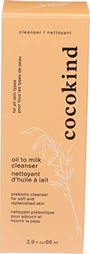 Cocokind Prebiotic Oil To Milk Cleanser, 2.9 Fl Oz