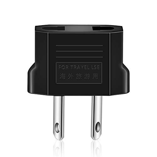 fghdf Adaptador de Enchufe Universal Portable Recorrido de los EEUU o de la UE al zócalo del Adaptador de alimentación de la UA