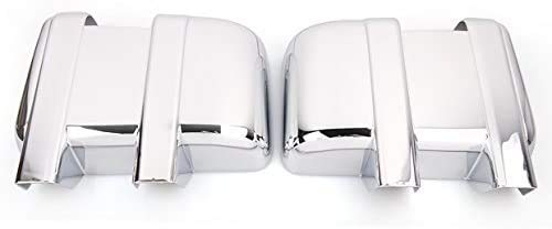 TX Racing Chrome Plated ABS Plastic Door Full Mirror Covers for Ford F250 F350...