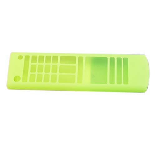 LilyJudy Funda de silicona para mando a distancia de TV AKB75095307 AKB74915305 AKB75675304 a prueba de golpes, color verde