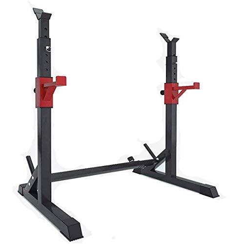 CTZL Langhantelständer, Verstellbares Gewicht Rack Gym, Heavy Duty Squat Rack Ständer, Gewichtheben Haushalts Langhantel Ständer, Maximale Belastung 250 kg Krafttraining