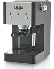 Gaggia ri8425/11 Macchina da caffè manuale ri8425 11/volautomatische espressomachine, zwart/zilver