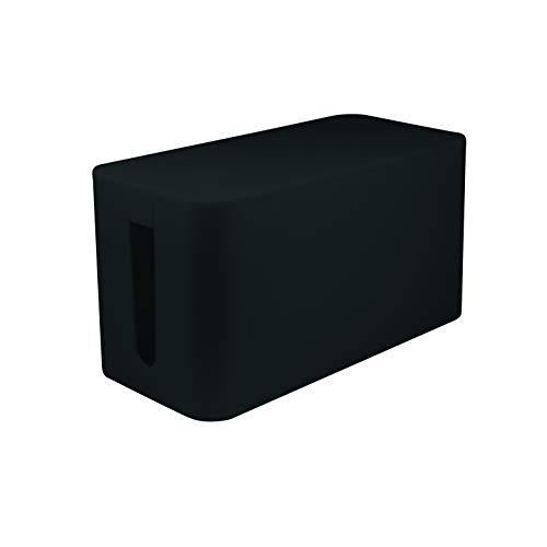 LogiLink KAB0060 - Kabelbox klein (235 x 115 x 120 mm), schwarz