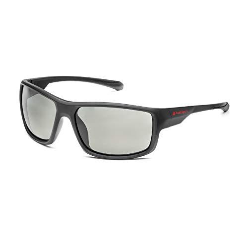 Audi collection 3111900200 - Gafas de sol deportivas, color negro y gris