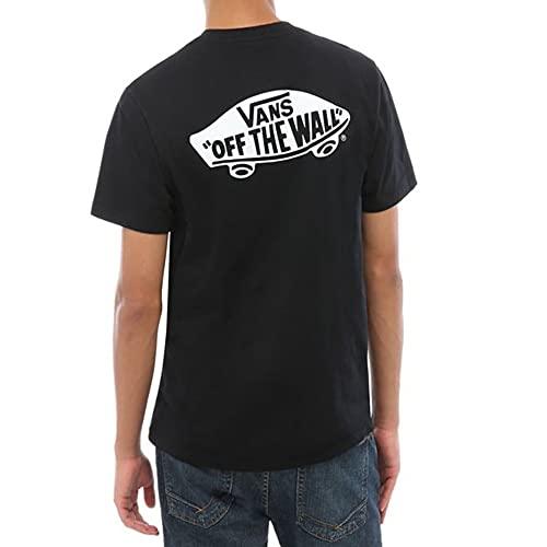 Vans Otw Classic T-Shirt, Nero (Black-White Y28), Medium Uomo